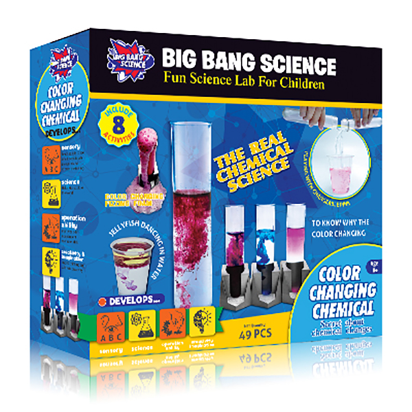 COLOR CHANGING CHEMICAL-chemistry set for kids
