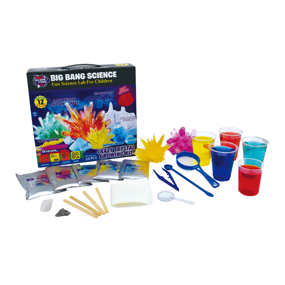 Crazy Crystal Growing Kit