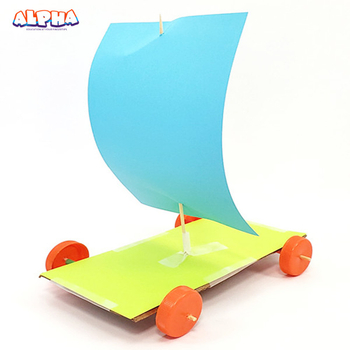 Alpha science classroom: DIY a Wind-Powered Car