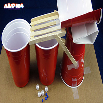 Alpha science classroom:Make Gravity-Powered Sorting Machine