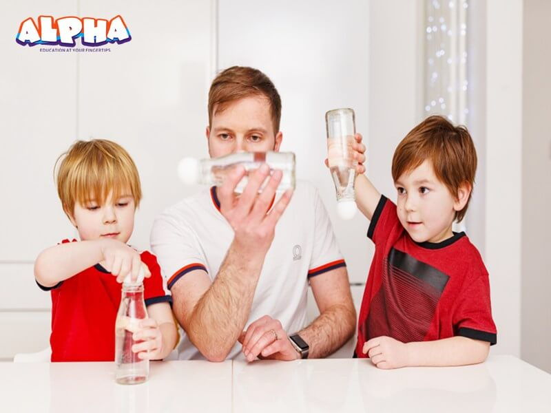 Alpha science classroom:kids science toys