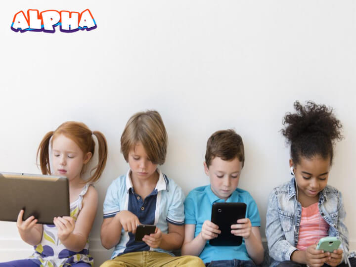 Alpha science classroom-Childrens video games
