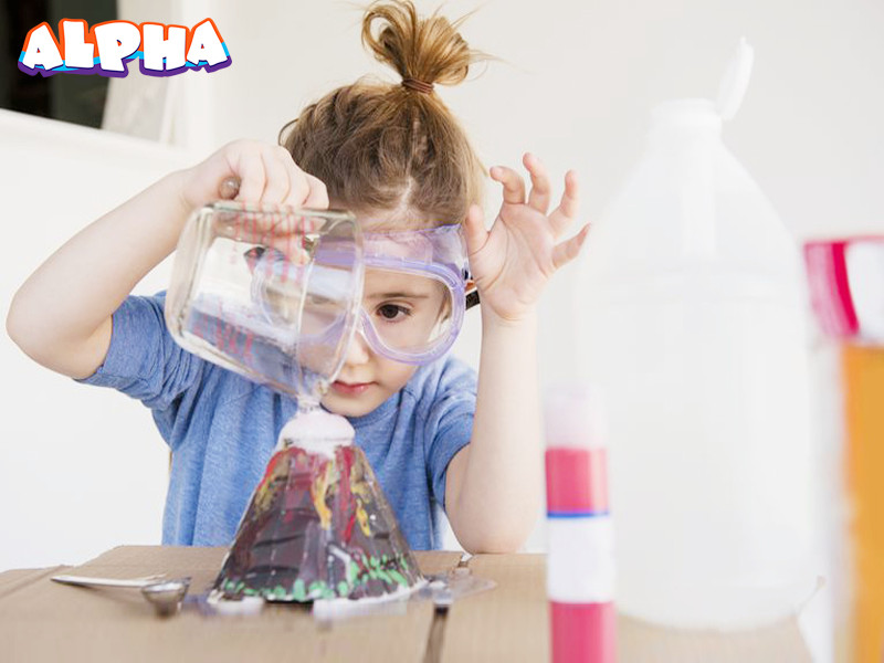 Alpha science classroom-science toy