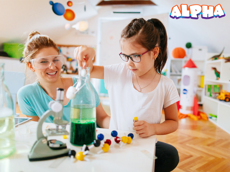 Alpha science toys-science kit for kids