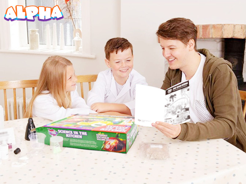 Alpha science classroom:Educational science toys at home-science toy