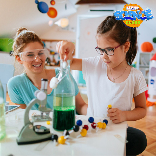 Alpha science toys: how to promote children learning science!